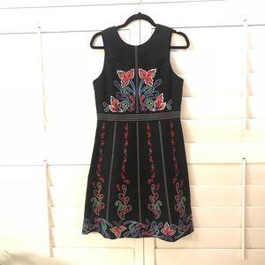 Dresses & Skirts - 🎉sale🎉NWT Anthropology- Mauve Black Motif Dress